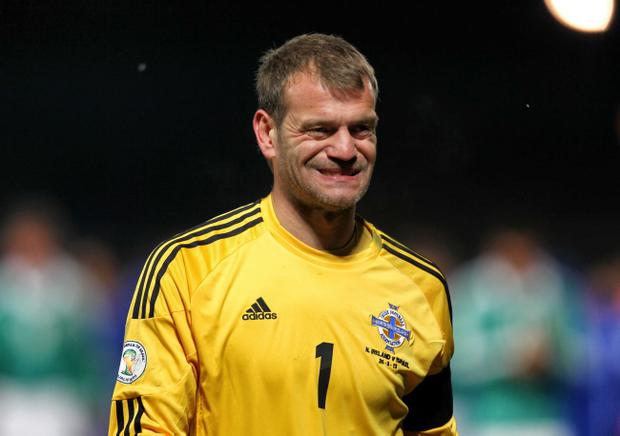 Roy Carroll 7 <br /> The experienced keeper looked calm throughout and couldn't be blamed for either goal. Was called into action in 53rd minute, making smart reaction save from Maor Melikson