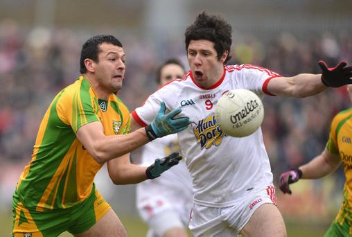 Donegal and Tyrone will meet in the Ulster Championship quarter-final in Ballybofey at the end of May