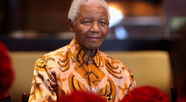 Former South African President Nelson Mandela is being treated in hospital for the recurrence of a lung infection