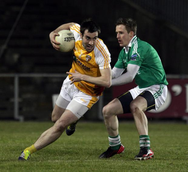 John Woods (right) is certain that Fermanagh can seize chance of promotion to Division Two
