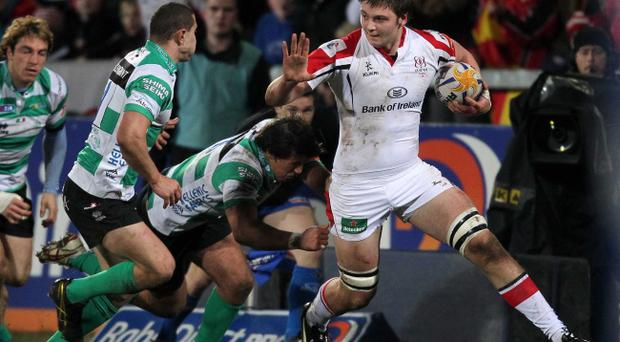 Iain Henderson has gone from debutant to Ulster regular and Ireland international in just 12 months