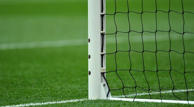 Sensors for the goal-line technology 'Hawkeye', which will be in use in the Premier League from next season