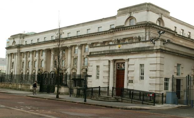 A Belfast High Court judge refused bail to two Polish men accused of setting fire to a Co Tyrone house