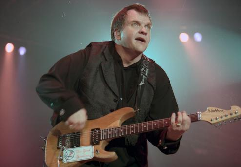 American Singer Meatloaf on stage at the Kings Hall. 20/8/1999