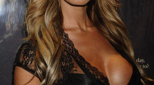 Lauren Pope arrives for the UK premiere of