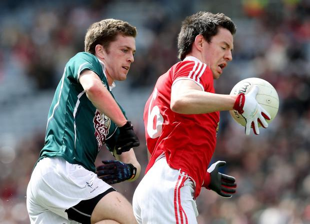 Matthew Donnelly (right) has brought a new dimension to Tyrone's play