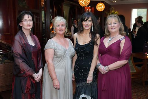 Angela Brady, Sandra Moore, Heather Mills and Diane Woodside