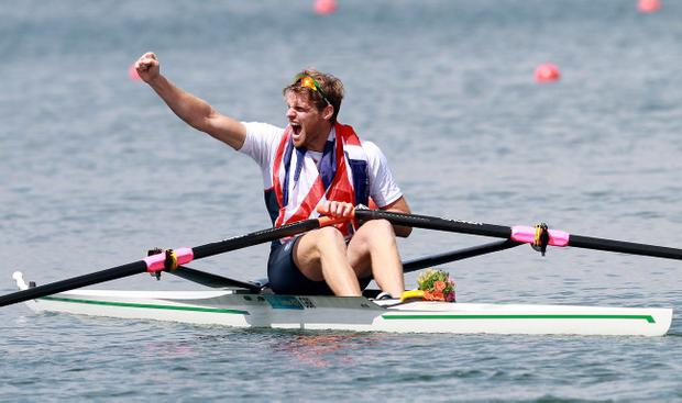 Alan Campbell believes he can improve on his bronze medal in last year's London Olympics when he competes in Rio during the 2016 games