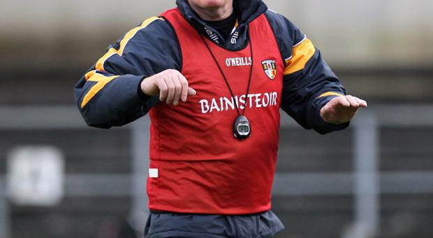 Antrim manger Frank Dawson is turning his attention to Antrim's Championship campaign after a difficult league outing