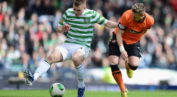 James Forrest (left) is fit and raring to go