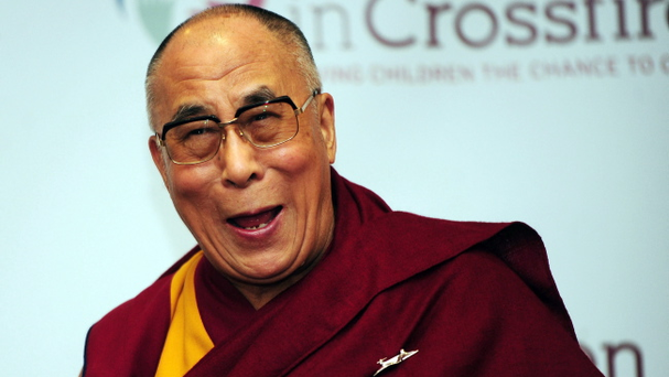The Dalai Lama visits Derry during a Culture of Compassion event for Children in Crossfire