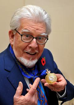 Rolf Harris was arrested in March, in relation to sex abuse claims