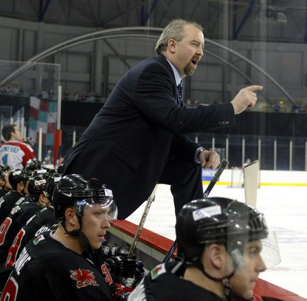 Dave Whistle, former Belfast Giants Coach