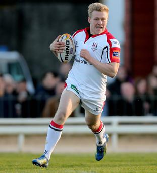 Ulster's Stuart Olding is set to start against Cardiff