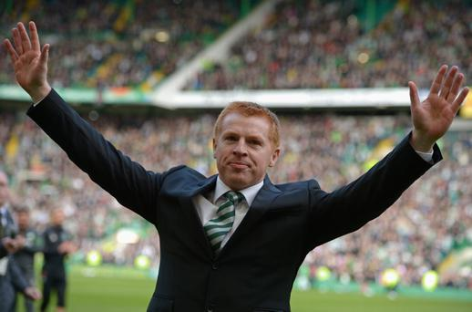 Manager Neil Lennon of Celtic