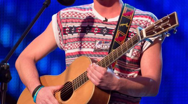 Jordan O'Keefe on Britain's Got Talent