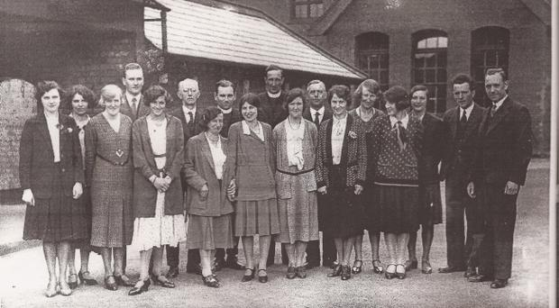 Staff in 1931