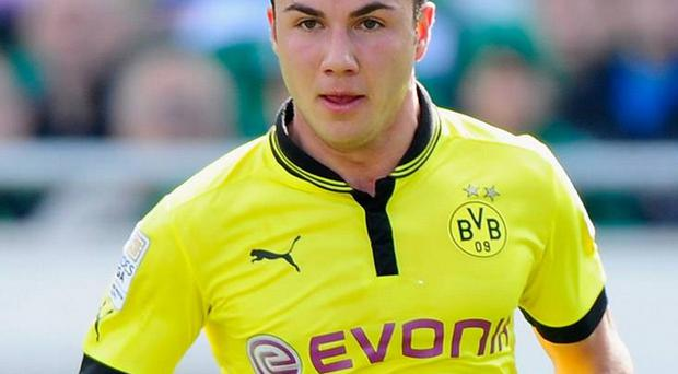 Mario Götze will move to Bayern from rivals Dortmund for £31.5m