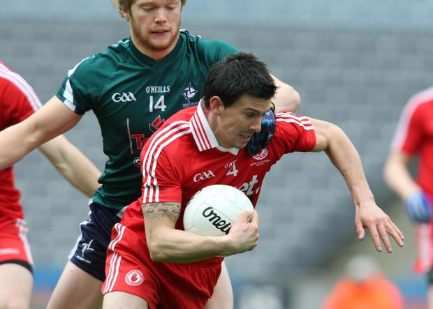PJ Quinn's return has further bolstered the Tyrone defence for Sunday's league final against Dublin