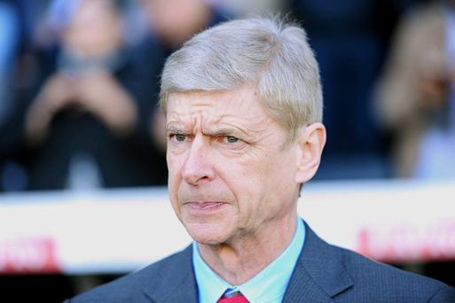 Arsene Wenger's Arsenal side will face Premier League champions Manchester United on Monday