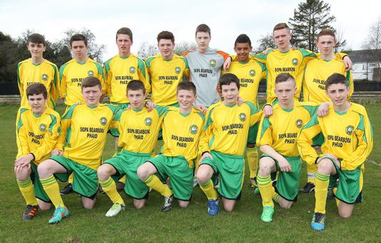 NI Vauxhall Schools Cup Finals Day, Ballymena Showgrounds Vauxhall Small Schools Cup (U15) Colaiste Feirste
