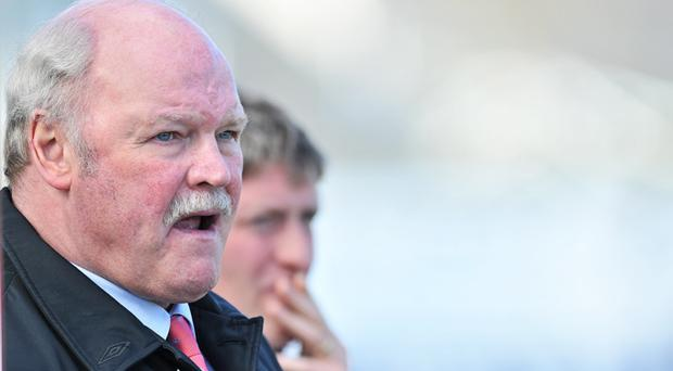 Portadown FC boss Ronnie McFall becomes European football's longest serving manager