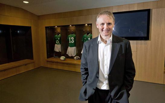 IRFU Announce Joe Schmidt as Ireland Head Coach, Aviva Stadium, Dublin 29/4/2013