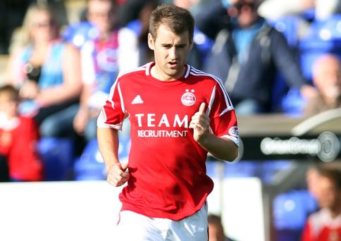 Aberdeen and Northern Ireland's Niall McGinn is a nominee for the SPFA Player of the Year