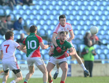 Tyrone's Conor Clarke is one of a battery of young county players who could get their chance to impress in the forthcoming Ulster Championship