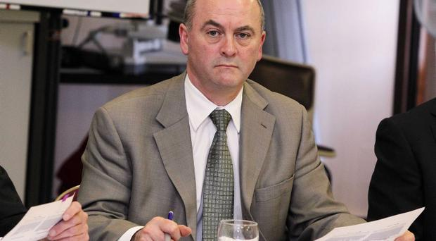 The chief executive of the Northern Health Trust Sean Donaghy is stepping aside as part of a shake-up