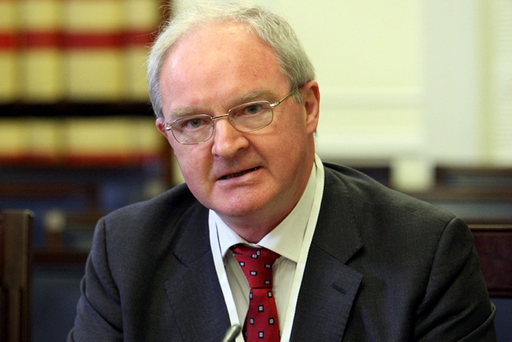 Lord Chief Justice, Sir Declan Morgan, addressing the Assembly's Justice Committee at Stormont