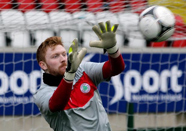 Cliftonville's Conor Devlin is enjoying his football again after failing to make the grade across the water