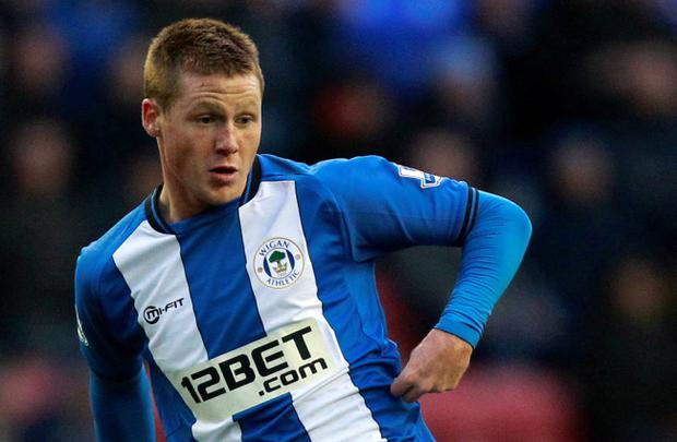 Wigan's James McCarthy is believed to be a transfer target for Chelsea and Arsenal