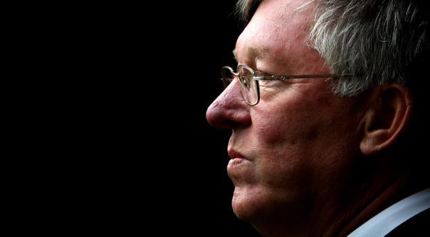 (FILE PHOTO) Manchester United manager Sir Alex Ferguson has announced that he will retire at the end of the season after 26 years in charge. ABERDEEN, UNITED KINGDOM - JULY 12: Sir Alex Ferguson looks on during the pre-season friendly, match between Aberdeen and Manchester United at Pittodrie Stadium on July 12, 2008 in Aberdeen, Scotland. (Photo by Phil Cole/Getty Images)