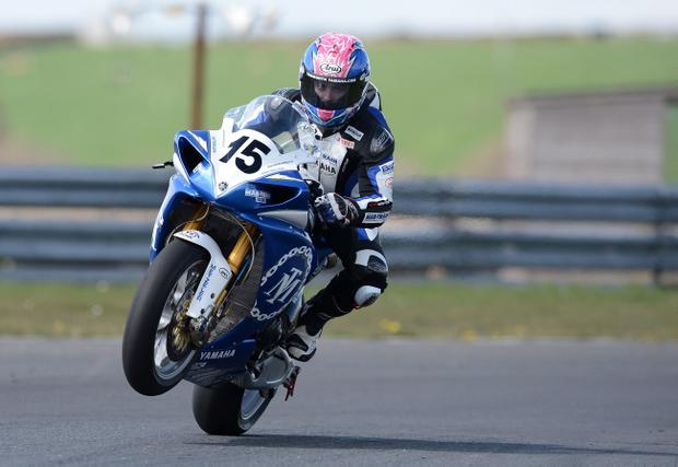 Scottish ace Stuart Easton, on his Saintfield-based Mar-Train team Yamaha, is ready to challenge British Supersport rival Alastair Seeley at the North West 200
