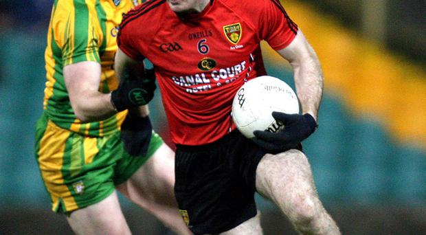Aidan Carr's return at centre half-back will give Down an added dimension
