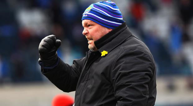 David Jeffrey has banished any thoughts of quitting at Linfield