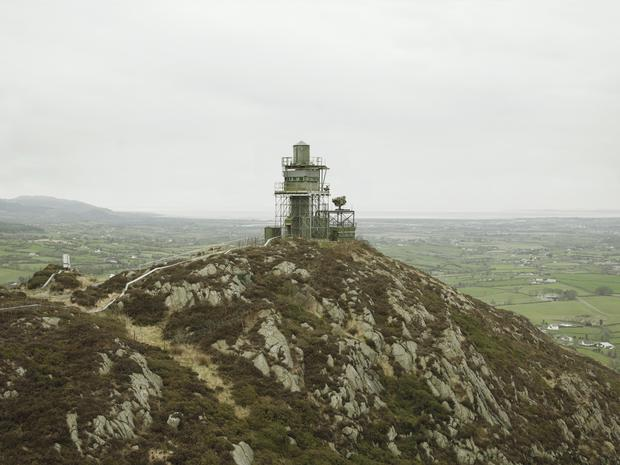 BELFAST EXPOSED AT THE MAC From the series British Watchtowers. Donovan Wylie/Magnum Photos. Courtesy of the artist.