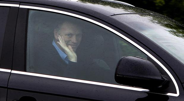 Current Everton manager and new manager of Manchester United as of next season, David Moyes arrives at Finch Farm Training Ground, Liverpool. Picture date: Friday May 10, 2013