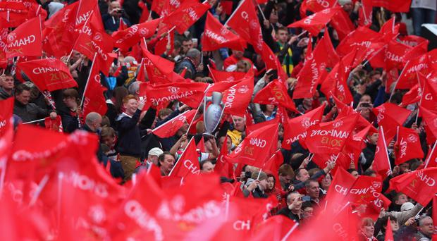 Manchester United fans show their support at Old Trafford