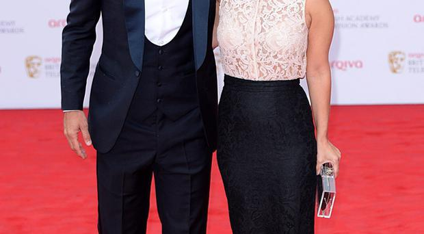 Jamie Redknapp with his wife Louise