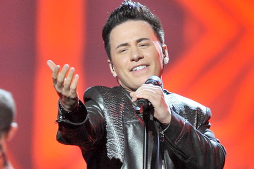 Ryan Dolan, who will represent Ireland in the 2013 Eurovision Song Contest