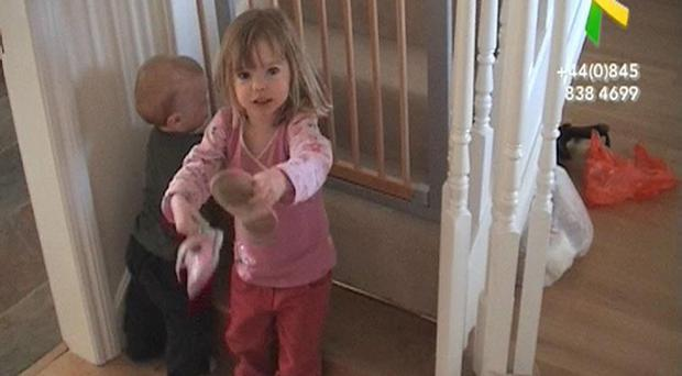 Still taken from undated Madeleine Fund handout video of Madeleine McCann who vanished from her family's holiday apartment in Praia da Luz in Portugal