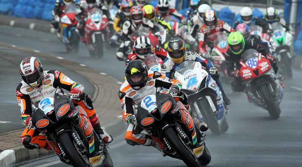 Bikers at this year's North West 200