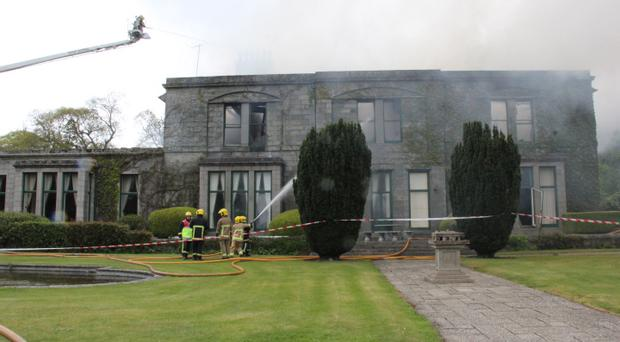 MOURNE PARK HOUSE FIRE