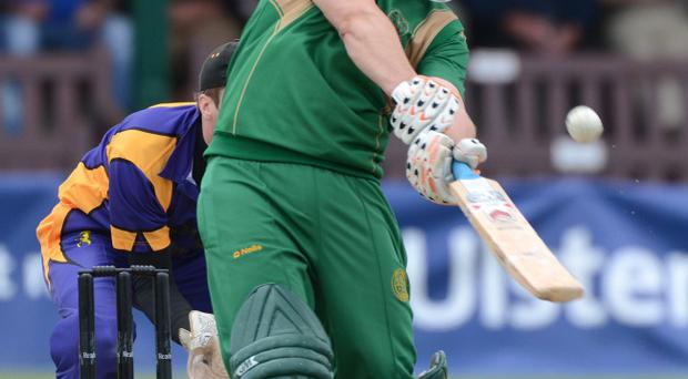 North Down's opening batsman Johnny Terrett was due to play for the Northern Knights but their clash with North West Warriors fell victim to the weather