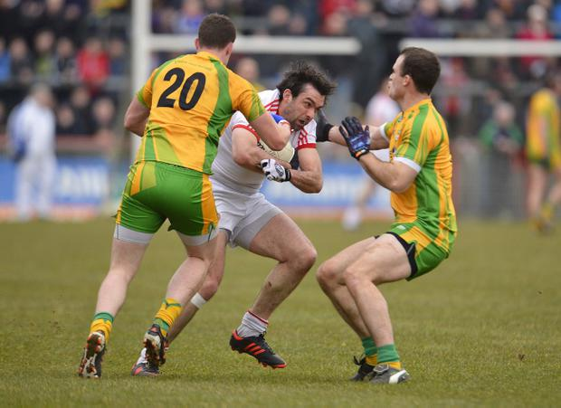 Joe McMahon's Tyrone are set to renew battle with Donegal