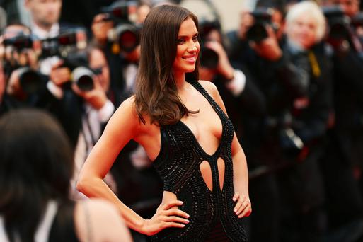 CANNES, FRANCE - MAY 22: Irina Shayk attends the 'All Is Lost' Premiere during the 66th Annual Cannes Film Festival at Palais des Festivals on May 22, 2013 in Cannes, France. (Photo by Vittorio Zunino Celotto/Getty Images)