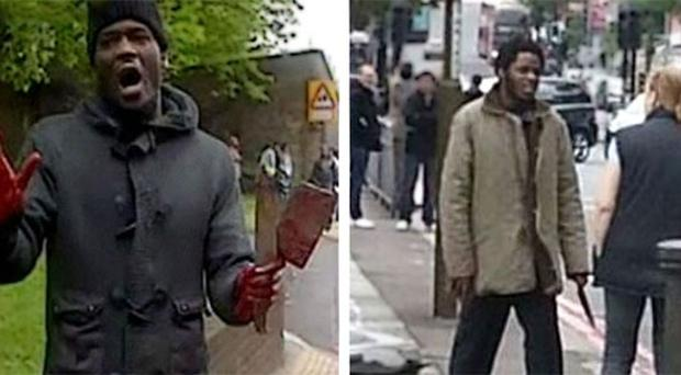 Suspects: Two men with knifes at scene of Woolwich attack