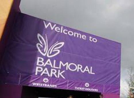 A 30-year-old man sustained injuries and was taken to hospital for treatment after he was attacked in a car park at the Balmoral Show